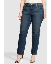 Denim & Supply Ralph Lauren Plus Size Blue Skinny Jeans