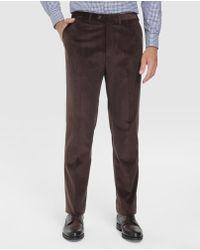Mirto - Regular-fit Brown Corduroy Trousers - Lyst