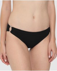 Guess - Youth Tonic Bikini Bottoms With Rings - Lyst
