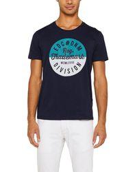 Esprit Mens Navy Blue Short Sleeve T-shirt