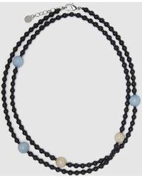 Emporio Armani Multicoloured Baubles Necklace