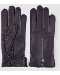 Gloria Ortiz Frankie Black Leather Gloves