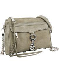 Rebecca Minkoff Green Leather Shoulder Bag