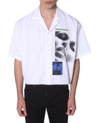 DSquared² X Mert & Marcus 1994 Graphic Print Shirt - White