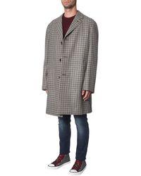 Lanvin Checked Coat - Multicolour
