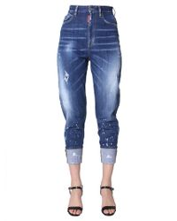 DSquared² - Sassoon 80's Fit Jeans In Denim Stretch - Lyst