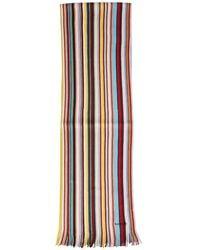 "Paul Smith ""signature Stripe"" Scarf - Multicolour"