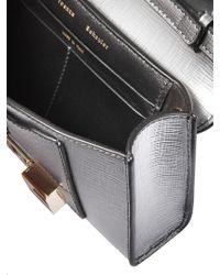 Proenza Schouler Silver Leather Shoulder Bag - Metallic