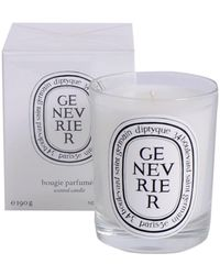 Diptyque Genevrier Scented Candle 190 G - White