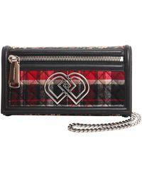 DSquared² Multicolor Leather Shoulder Bag - Red