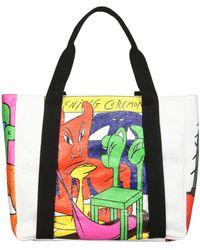 Opening Ceremony Braulio Printed Tote Bag - Multicolour