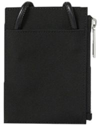 KENZO Canvas Card Holder With Logo - Black