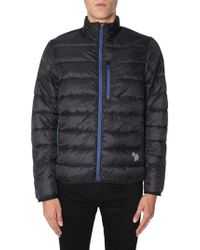 PS by Paul Smith Blue Polyamide Down Jacket