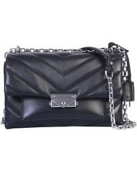 MICHAEL Michael Kors Cece Quilted Leather Bag - Black