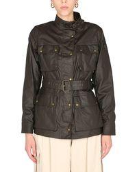 Belstaff Trialmaster Waxed Cotton Jacket - Green