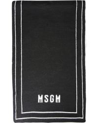 MSGM SCIARPA UOMO 2940MK1720756401 NERO