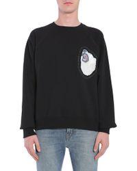 Golden Goose Deluxe Brand Printed Sweatshirt - Black