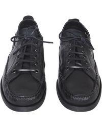 Paraboot Malibu Leather Derby - Black