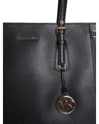 88d4c0fd3b83f3 MICHAEL Michael Kors - Medium Voyager Tote Bag In Leather - Lyst