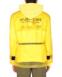 "Helmut Lang ""tech"" Rainproof Vinyl Jacket - Yellow"