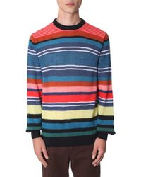 PS by Paul Smith Striped Wool Jumper - Multicolour