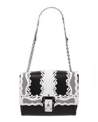 Paula Cademartori Alice Leather Crossbody Bag - Black