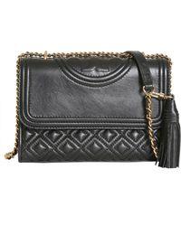 Tory Burch - Mini Fleming Leather Bag - Lyst