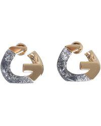 Givenchy ORECCHINI G CHAIN BICOLORE - Metallizzato