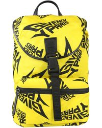 Givenchy Nylon Backpack With Extreme Logo - Yellow