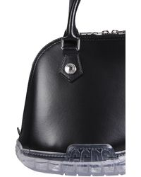 Gcds Bag Leather Trainers - Black