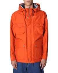 AMI Hooded Parka - Orange