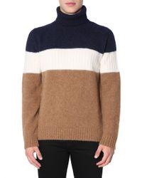 Ballantyne High Collar Sweater - Multicolor