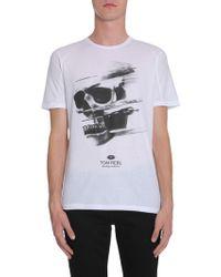 Tom Rebl White Cotton T-shirt