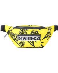 Givenchy Marsupio giallo con stampa