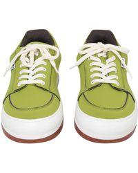 Sunnei Neoprene Dreamy Trainers - Green