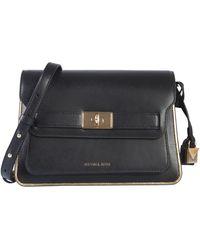 MICHAEL Michael Kors Tatiana Leather Bag - Black