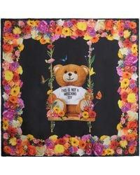 Moschino | Foulard Botanical Teddy | Lyst