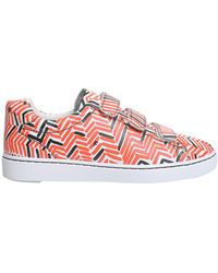 Ash Power Tweed Leather Trainers - Multicolour