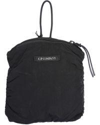 C P Company Nylon Iconic Backpack - Black