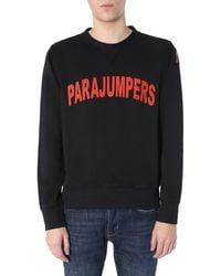 "Parajumpers ""caleb"" Round Neck Sweatshirt - Black"
