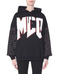 McQ Hooded Sweatshirt - Black