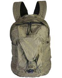 C P Company Nylon Backpack With Logo - Green