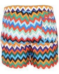 Missoni COSTUME DA BAGNO IN NYLON CON STAMPA - Multicolore