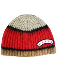 Marni Other Materials Hat - Red