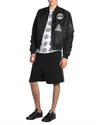 McQ - Bomber Jacket With Patch - Lyst