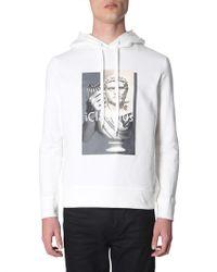 """Neil Barrett """"i-claudius"""" Printed Sweatshirt - White"""