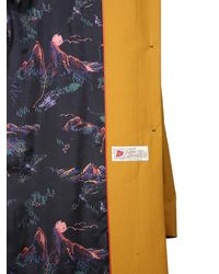 PS by Paul Smith Water-repellent Cotton Trench - Metallic