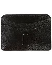 "Marc Jacobs - ""snapshot Dtm"" Leather Card Holder - Lyst"