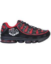 MSGM Silva X Fila Sneaker - Red