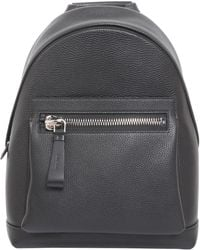 Tom Ford - Pebbled Leather Backpack - Lyst